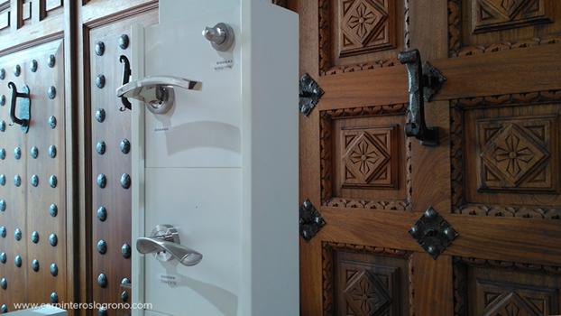Carpintería puertas rústicas en Logroño