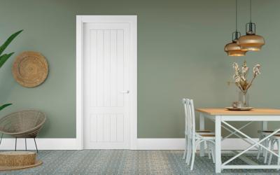 ¿Qué puertas de interior elegir? Puertas lacadas, de madera…