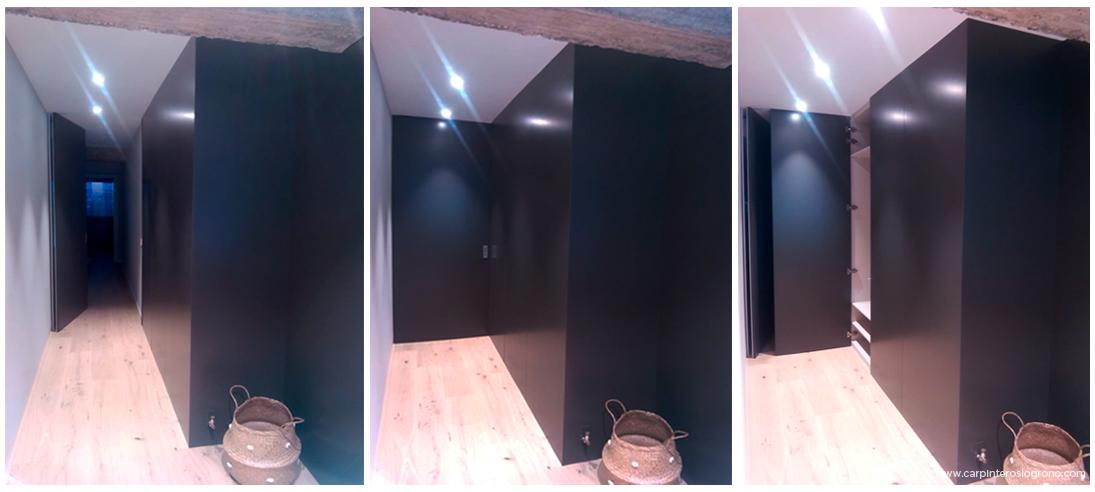 Puertas de interior en color negro
