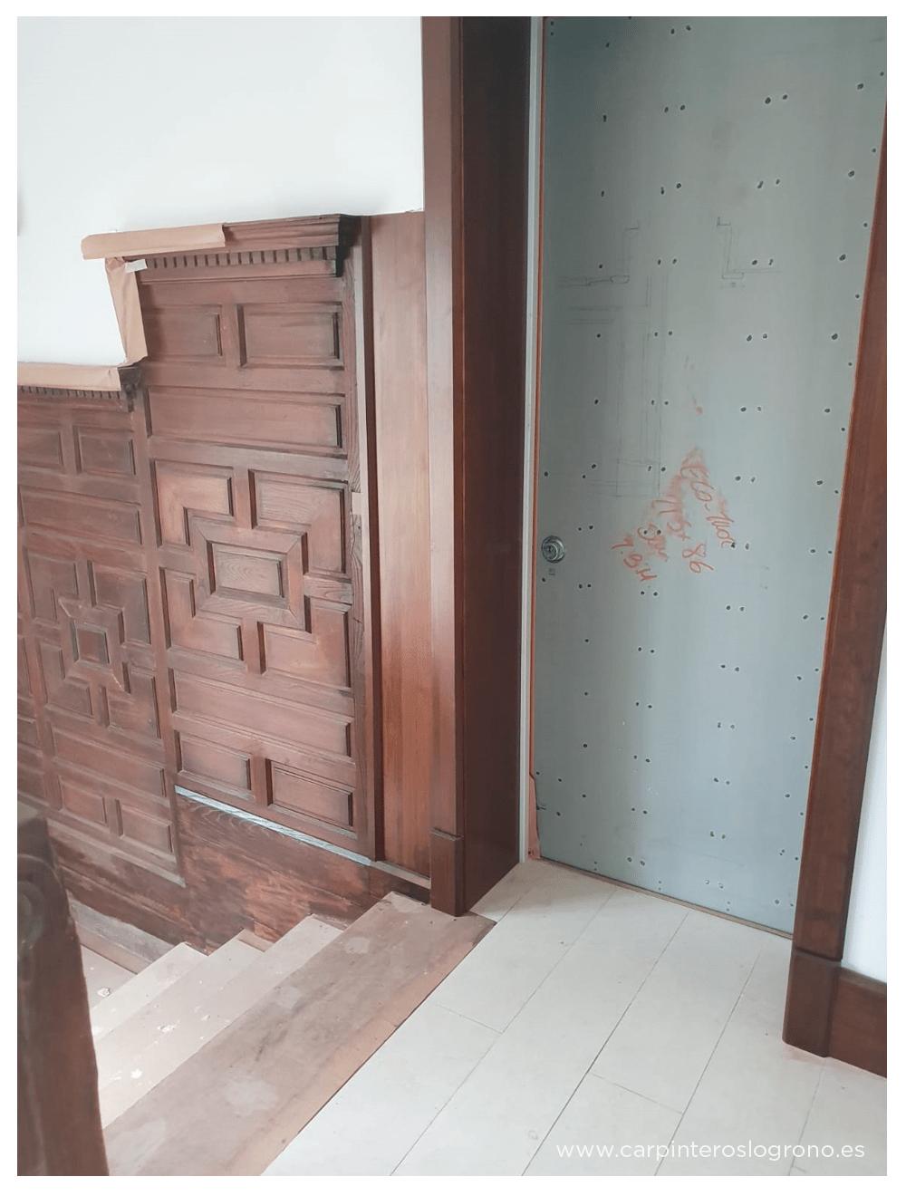 Restauración y trabajos de carpintería en Getxo